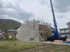 平板瓦新築工事
