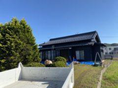 陶器瓦から日本瓦への葺き替え工事①